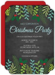 holiday invitations business holiday invitations business christmas invitations