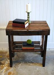 Pallet Wood End Table U2013 TheltcoPallet Coffee Table For Sale