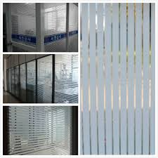 office glass windows. Glass Window Film Frosted Privacy Striped Office Decorative New 2016 Self Adhesive Glasses Decals Width45/60/75*300cm -in Films From Home Windows R