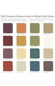 Old California and Spanish Revival Style Pasadena Showcase House 2012  Spanish Colonial Revival Color Palette