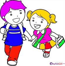 Tranh tô màu bé trai, bé gái đáng yêu nhất cho bé tập tô