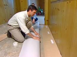 Installing Kitchen Flooring How To Install Vinyl Flooring How Tos Diy