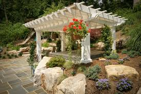 image of corrugated fiberglass roofing panels gazebo