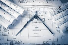 architecture blueprints. Interesting Architecture Download Rolls Of Architecture Blueprints And House Plans Stock Photo   Image Of Architecture Architect With L