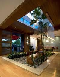 House Interior Garden Design Contemporary Luxury House Designs Interior Open Roof Indoor