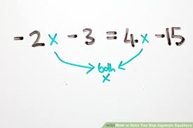 variable on each side image titled solve two step algebraic equations step 9