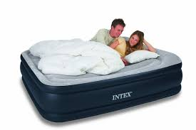 Wonderful fort Air Bed Intex fort Frame Airbed Kit Queen