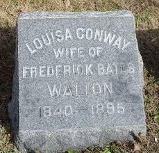 Louisa Conway Walton (1840-1895) - Find A Grave Memorial