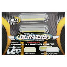 platinum burners led series off road racing lights 54 count platinum burners led series off road racing lights 54 count walmart com