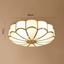 brass ceiling lights flush mount
