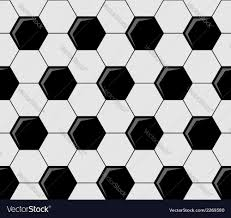 Soccer Ball Pattern Fascinating Background Pattern Of Soccer Ball Pentagons Vector Image