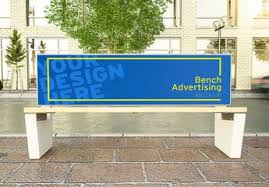 Present your design with this bench mockup before printing. Advertising Bench On A Street Mockup Affiliate Bench Advertising Mockup Street Ad A Street Bench Architecture Photo