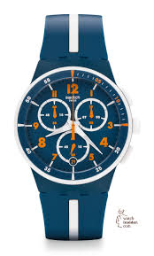 watch insider my top 10 swatch watches of the year › watchtime swatch chrono plastic white speed