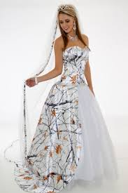 Wedding Camo Dresses