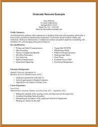 Inspirational Job Resume Examples No Experience 8 Sample College