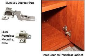 frameless cabinets. incredible blum 110 degree hinge for inset doors frameless cabinets cabinet hinges