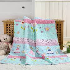 2017 children thin summer quilt air condition quilts cotton ... & 2017 children thin summer quilt air condition quilts cotton coverlet for  child cartoon bed spread girl Adamdwight.com