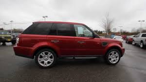 2006 Land Rover Range Rover Sport HSE | Red | 6A908469 | Everett ...