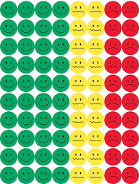 Smiley Face Behavior Chart Printable Behavior Stickers Pack Of 4 Sheets 320 Stickers 1 2