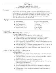Sample Objectives For Resume Cool Example Of Resume For Ojt Students With Objective For Resume Sample