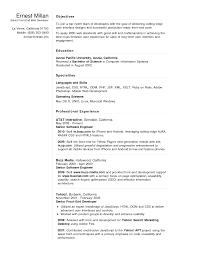 Resume Sample Web Developer Resume