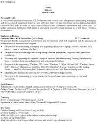 Examples Of Problem Solving Skills In Customer Service Ict Technician Cv Example Icover Org Uk