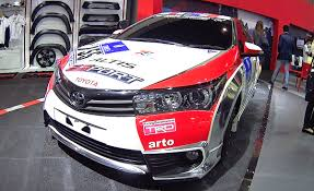 2016 Toyota Corolla Altis TRD Racing Development - YouTube