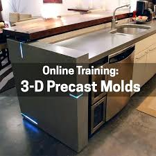 concrete countertop mold training 3 dimensional precast molds ramp sinks concrete countertop edge molds diy