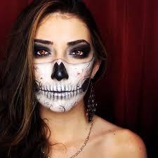 paulina alaiev s photo on insram half skull face look
