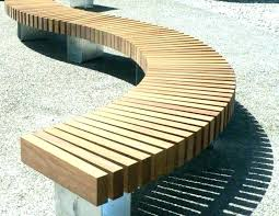 circular outdoor seating circular seating circular seating circular outdoor seating wooden bench curved garden wedding ceremony