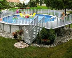 above ground swimming pool with deck. Perfect Swimming And Above Ground Swimming Pool With Deck M