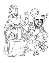 De 11 Beste Afbeelding Van Sinterklaas Coloring Pages Colouring