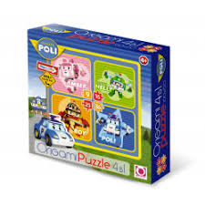 Отзывы о <b>Пазлы Origami</b> Puzzle 4 в 1