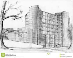 architecture buildings drawings. Bank Building Sketch Architecture Buildings Drawings G