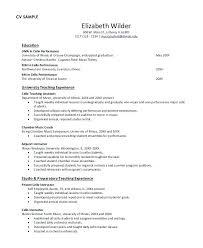 Undergraduate Student Resume Sample Inspiration Resume Template Monster Resume Samples Monster Undergraduate College