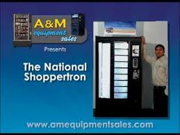 Skybox Vending Machine Repair Mesmerizing The National Shoppertron Vending Machine YouTube