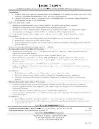 Procurement Manager Resume Sample Purchase Assistant Purchasing