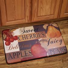 Memory Foam Kitchen Floor Mats Memory Foam Anti Fatigue Kitchen Floor Mat Fruit Anti Fatigue