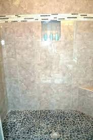 river rock shower floor tile sealer ideas ri