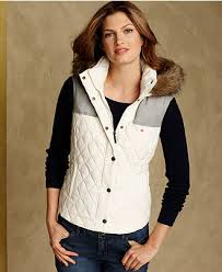 Tommy Hilfiger Vest, Sleeveless Quilted Puffer - Womens Jackets ... & Tommy Hilfiger Vest, Sleeveless Quilted Puffer - Womens Jackets & Blazers -  Macy's Adamdwight.com