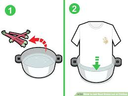 how to get rust stains out of clothes image titled get rust stains out of clothes