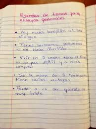 best personal essay writing in spanish images  writing personal essays in spanish ensayos personales