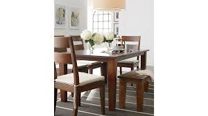 basque honey 82 dining table reviews crate and barrel with regard to inspirations 1