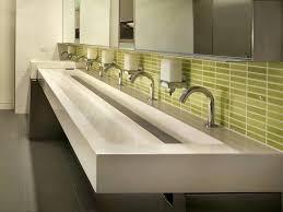 public bathroom sink. Exciting Public Bathroom Sinks Sink Interesting Ideas  Fifth Ave Trough A