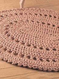 crochet oval rug pattern