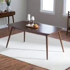 Round dining table for 6 Wood Belham Living Carter Midcentury Modern Dining Table Undocumentedimmigrationcom Person Kitchen Dining Table Sets Hayneedle
