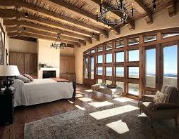 Romantic Bedroom Chandeliers Master Bedroom With Handcrafted Exposed Wood  Beams And That View Love It Check Out Modern Chandeliers For Living Room