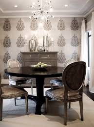 Small Picture gray dining room design with gray walls paint color Romo charcoal
