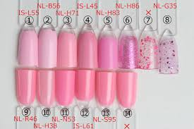 Opiネイル人気色比較ピンク編2 セルフネイルで幸せ時間大人ネイル