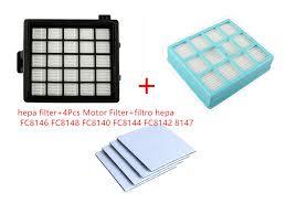 <b>6Pcs vacuum cleaner</b> replacement parts <b>hepa filter</b>+4Pcs Motor ...